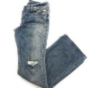 American Eagle Womens Artist Bootcut Jeans, 10 R